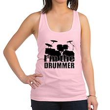 Im the Drummer Racerback Tank Top
