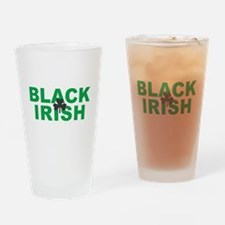 Black Irish 5 Drinking Glass