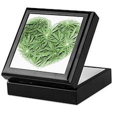 Pot Heart Keepsake Box
