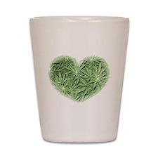 Pot Heart Shot Glass