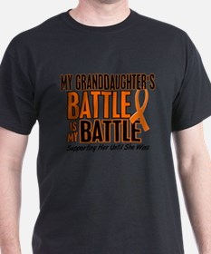 My Battle Too (Granddaughter) Orange T-Shirt