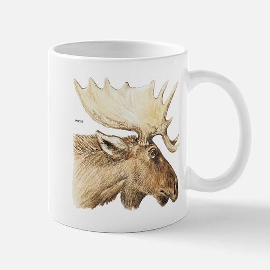 Moose Head Animal Mug