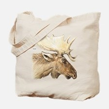 Moose Head Animal Tote Bag
