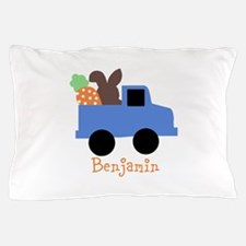 Easter time truck personalized Pillow Case