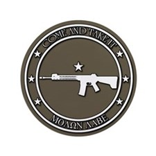 """Come and Take It 3.5"""" Button (100 pack)"""