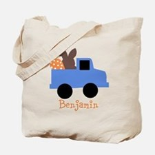 Easter time truck personalized Tote Bag