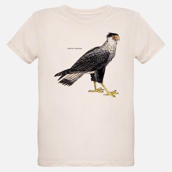 Crested Caracara Bird T-Shirt