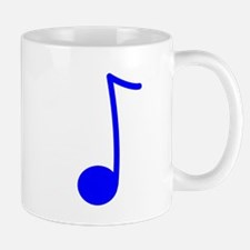 Blue Eighth Note Mug