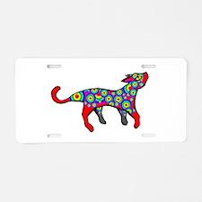 Rainbow Cat Aluminum License Plate