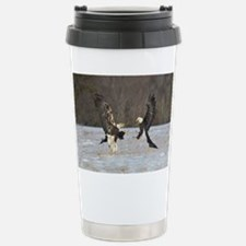 Fighting Ealges Stainless Steel Travel Mug