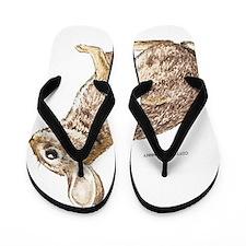 Cottontail Rabbit Flip Flops