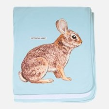 Cottontail Rabbit baby blanket