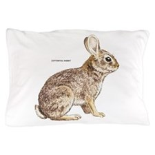 Cottontail Rabbit Pillow Case