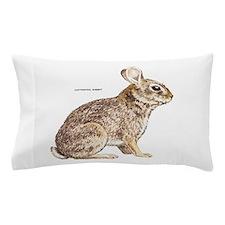 Cottontail Rabbit Pillow Case