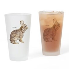 Cottontail Rabbit Drinking Glass