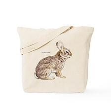 Cottontail Rabbit Tote Bag