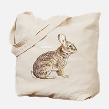 Cottontail Rabbit Tote Bag