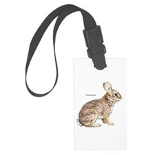 Cottontail Rabbit Luggage Tag
