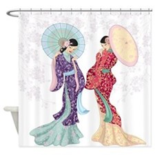 Beautiful Geishas Shower Curtain