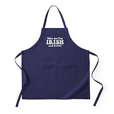 Irish and Cute Apron (dark)