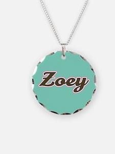 Zoey Aqua Necklace