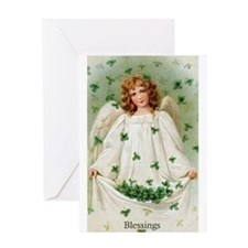 Blessings Angel Greeting Card