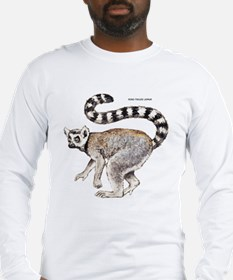 Ring-Tailed Lemur Long Sleeve T-Shirt