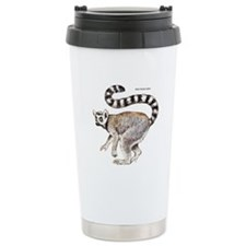 Ring-Tailed Lemur Travel Coffee Mug