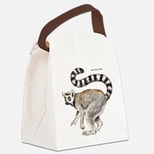 Ring-Tailed Lemur Canvas Lunch Bag