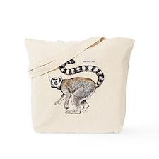 Ring-Tailed Lemur Tote Bag