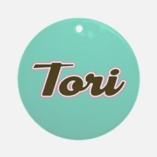 Tori Aqua Ornament (Round)