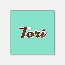 Tori Aqua Sticker