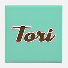 Tori Aqua Tile Coaster