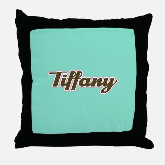 Tiffany Aqua Throw Pillow