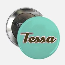 "Tessa Aqua 2.25"" Button"