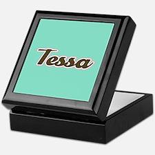 Tessa Aqua Keepsake Box