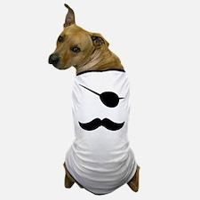 Pirate Mustache Dog T-Shirt