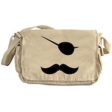 Pirate Mustache Messenger Bag