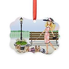 ByCatiaCho Yorkie Derby Ornament
