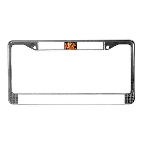 FIRE License Plate Frame
