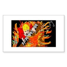 FIRE Rectangle Decal