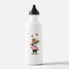 ByCatiaCho Yorkie Love Water Bottle