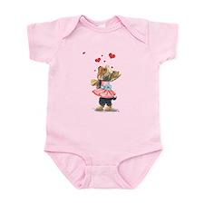 ByCatiaCho Yorkie Love Infant Bodysuit