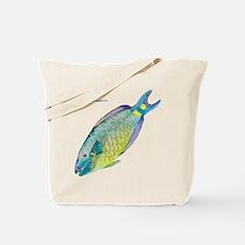 Stoplight Parrotfish Tote Bag