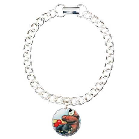 ByCatiaChoYorkie Friend Charm Bracelet, One Charm