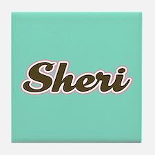 Sheri Aqua Tile Coaster