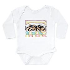 ByCatiaCho Sleeping Babies Long Sleeve Infant Body