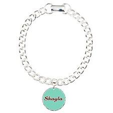 Shayla Aqua Bracelet