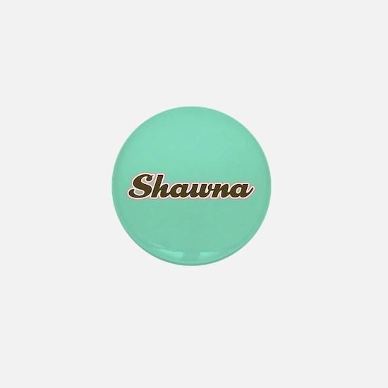 Shawna Aqua Mini Button