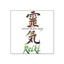 Reiki Healing hands chinese letters Sticker